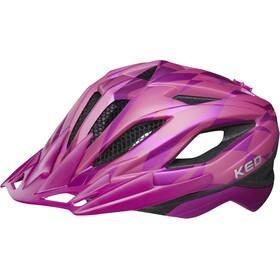 KED Street Jr. Pro casco per bici Bambino rosa
